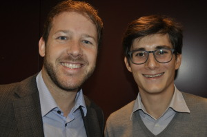 Raphael Bratschi (adwebster AG) und Henry Steimer (henry.marketing)
