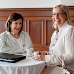 Entspannte Runde mit Edith Moosbrugger und Ursula Hürlimann