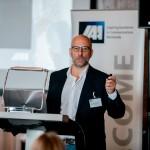 IAA-Präsident Andreas Widmer, begrüsst die IAA-Mitglieder zur jährlichen Generalversammlung