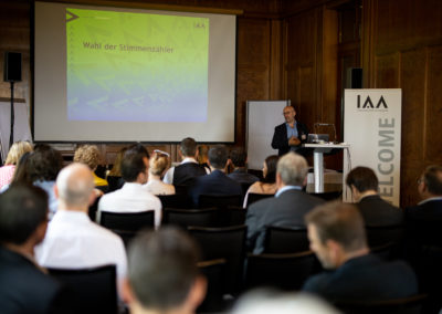 IAA Generalversammlung 2019.